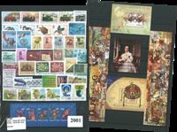 Ungarn - årgang  2001 - Postfrisk