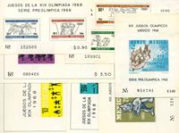 Mexique - Jeux Olympiques - Blocs-feuillets