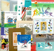Hungary - 109 diff. mint souvenir sheets