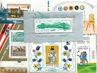 Ungarn - 31 forskellige postfriske miniark