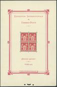 France - Souvenir sheet 1925 Philatelic exhibition