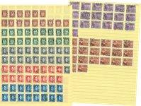 Norvège - Classeur avec des timbres standard