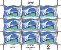 Groenland - Europa 2018 - Ponts - Feuillet neuf