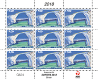 Greenland - Europa 2018 - Bridges - Mint sheetlet