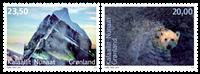 Grønland - Miljøbeskyttelse - Postfrisk sæt 2v