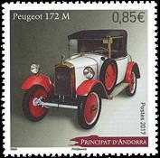 Fransk Andorra - Peugeot 172M - Postfrisk frimærke