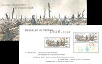 Frankrig - Smukkeste frimærke i 2016 - Postfrisk miniark i mappe