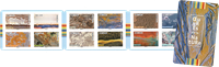 Frankrig - Naturens kunst - Postfrisk frimærkehæfte