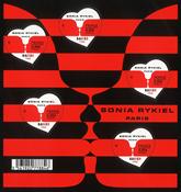 Frankrig - Sonia Rykiel hjerter - Postfrisk miniark