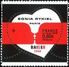 France - Sonia Rykiel coeur - Timbre neuf