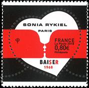 Frankrig - Sonia Rykiel hjerte - Postfrisk frimærke