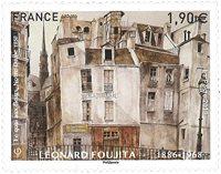 诺菲集邮,法国新邮,花码头,1950年的圣母院 - 新票