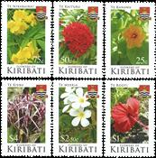 Kiribati - Blomster - Postfrisk sæt 5v