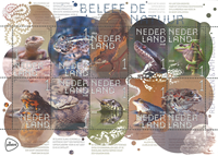 Netherlands - Reptiles and Amphibiens - Mint sheetlet