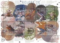 Pays-Bas - Reptiles et amphibiens - Feuillet neuf