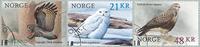 Norge - Rovfugle - Stemplet sæt 3v