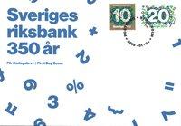 Sverige - 'The Riksbank' FDC - Førstedagskuvert