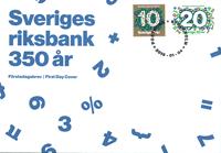 Sverige - *The Riksbank* FDC - Førstedagskuvert