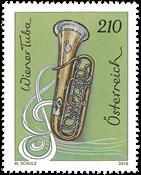 Østrig - Wiener Tuba - Postfrisk frimærke