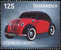 Østrig - Steyr Baby bil - Postfrisk frimærke
