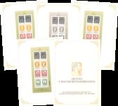 Ungarn - 150-året for første frimærke - Specialfolder med 4 nummererede ark.Oplag kun 1.000 stk.Michel værdi 820 kr