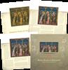 Hongrie - 3 saints - Pochette avec 3 feuilles neuves, tirage 10.000 åcs seulement
