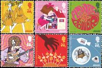 Jersey - La culture populaires des années 1960 - Série neuve 6v