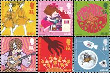 Jersey - La culture populaire des années 1960 - Série neuve 6v