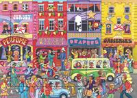 Jersey - 60ernes populærkultur - Postfrisk miniark 1v