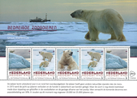 Netherlands - Polar bear - Mint sheetlet