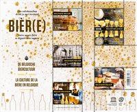 Belgien - Ølkultur - Postfrisk miniark