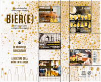 Belgium - Beer culture - Mint souvenir sheet