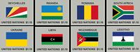 Verenigde Naties - Vlaggen 2018 - Postfrisse serie van 8