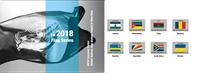 Nations Unies - Drapeaux 2018 - Présentation souvenir