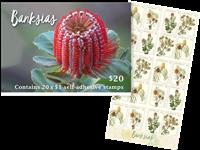Australie - Banksia - Carnet neuf 20v