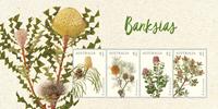 Australien - Banksia - Postfrisk miniark
