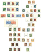 Switzerland - Collection 1854-1944 in Leuchtturm album with mounts