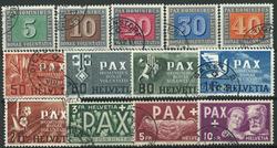 Suisse - 1945