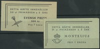 Sweden - Lot - Approx. 1940-50