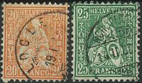 Switzerland - 1881