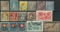 Schweiz - Samling - 1854-1936