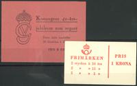 Sweden - Lot - Booklets