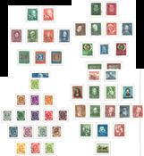 Allemagne de l'Ouest - Collection en 4 albums Leuchtturm