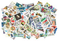 Hungary - 590 diff. stamps