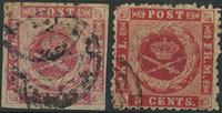 Antilles danoises - 1866-72