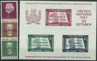 Nations Unies - Collection - 1962-65