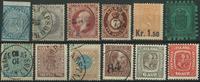 Scandinavia - Lot - 1855-1915