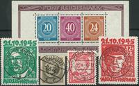 Tyske - Zoner og lokaludgaver - 1945-48