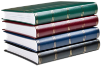 Large stockbook - 60 white pages - Leuchtturm