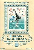 Hongrie - Bloc-feuillet neuf patinage artistique